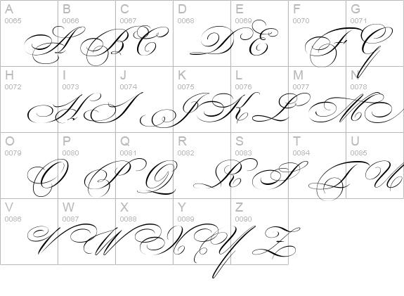 Beautiful Caps ES Swash Capitals Font FontZonenet