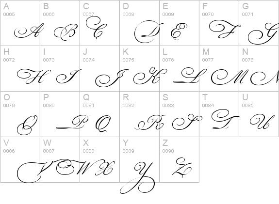 Bickham Script Three Font - FontZone.net