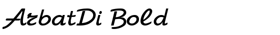 ArbatDi Bold - Download Thousands of Free Fonts at FontZone.net