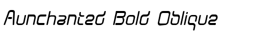 Aunchanted Bold Oblique - Download Thousands of Free Fonts at FontZone.net