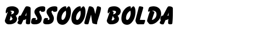Bassoon BoldA - Download Thousands of Free Fonts at FontZone.net