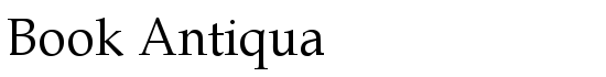 Book Antiqua - Download Thousands of Free Fonts at FontZone.net