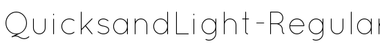 QuicksandLight-Regular - Download Thousands of Free Fonts at FontZone.net